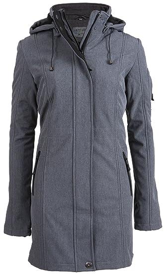 vente professionnelle style limité achat authentique Softshell manteau pour femmes   Manteau Softshell long ...