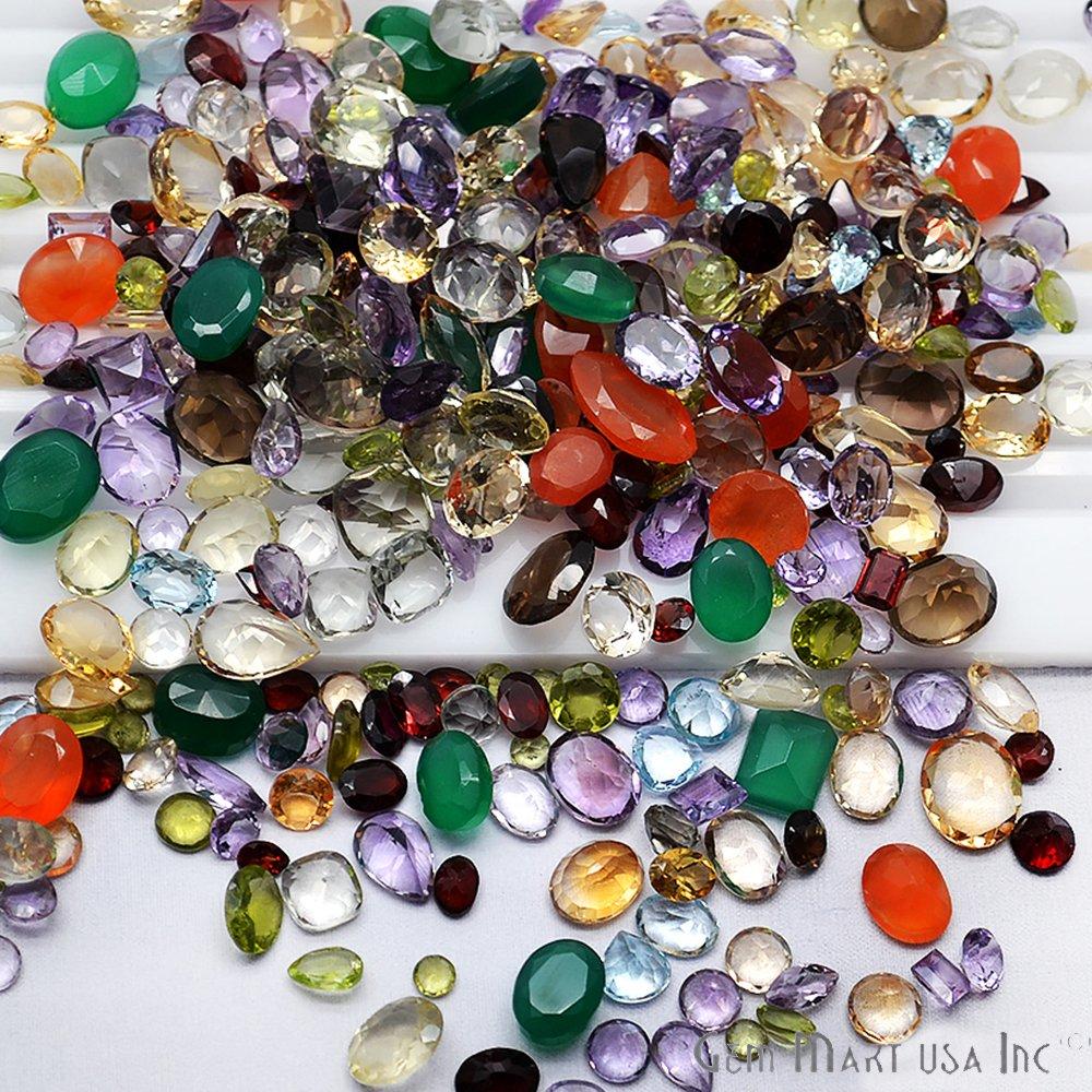 aecf69d6a81 Amazon.com  1000 + Carats Mixed Gem Natural Loose Gemstone Mix Lot Wholesale  Loose Mixed Gemstones Loose Natural Wholesale Gems Mix