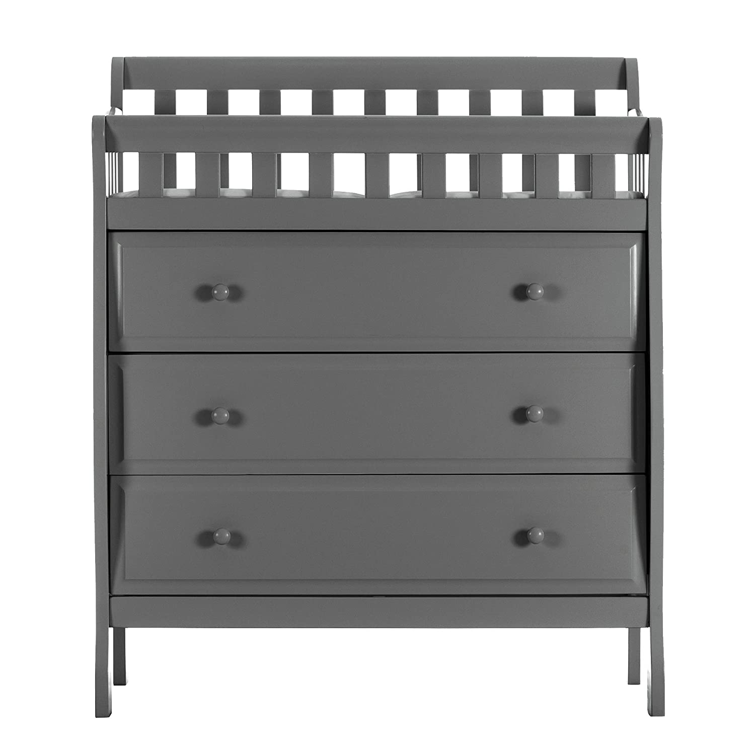 product wood wooden overstock babyletto free home shipping dresser hudson removable today table changer with tray changing garden drawer