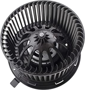 BOXI Heater Blower Motor w/Fan Cage for 2002-2007 Jeep Liberty / 2002-2006 Jeep Wrangler 5066553AA