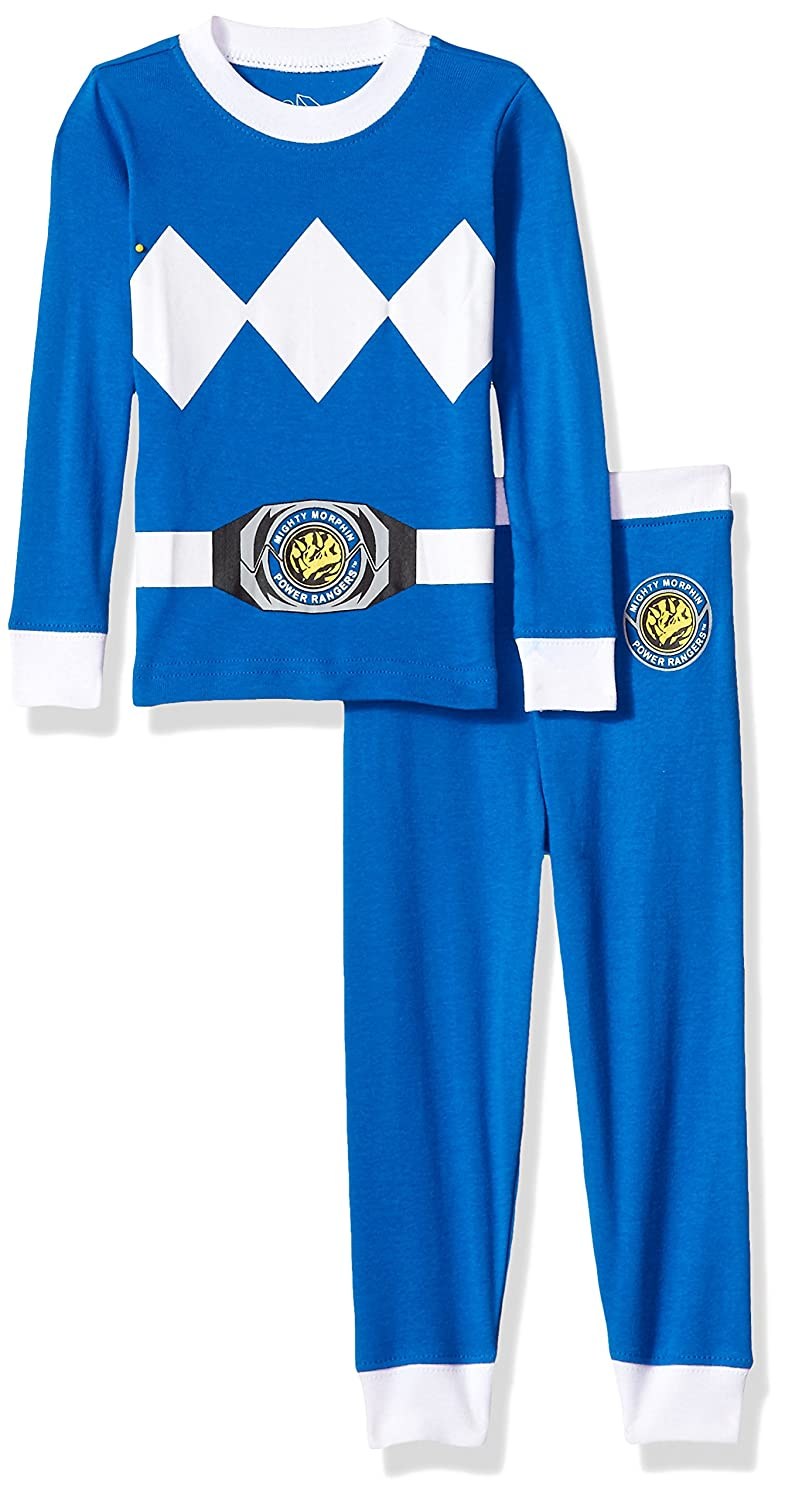 3T 020221T Intimo Boys Toddler Mighty Morphin Blue Ranger Pajama Set
