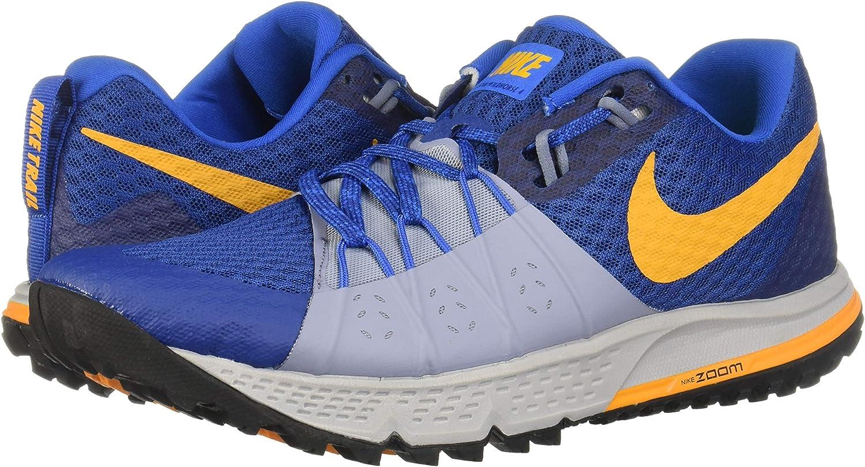 Nike Air Zoom Wildhorse 4, Zapatillas de Deporte para Hombre, Multicolor (Gym Blue/Orange Peel/Ashen Slate 402), 44 EU: Amazon.es: Zapatos y complementos
