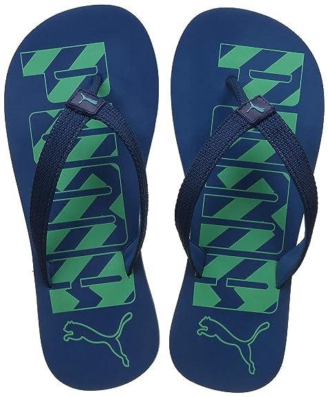 5f3a6dfe8 Puma Unisex s Corsair-Biscay Green Flip Flops Thong Sandals-9 UK India (