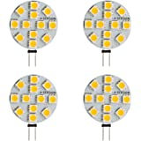 SEBSON® 4 x G4 LT 2.5W LED, Warm White, 20W Replacement for Light Bulb, 200lm, 110º Beam Angle