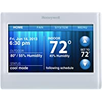 Honeywell TH9320WF5003 WiFi 9000 Color Touchscreen Thermostat, Works with Alexa