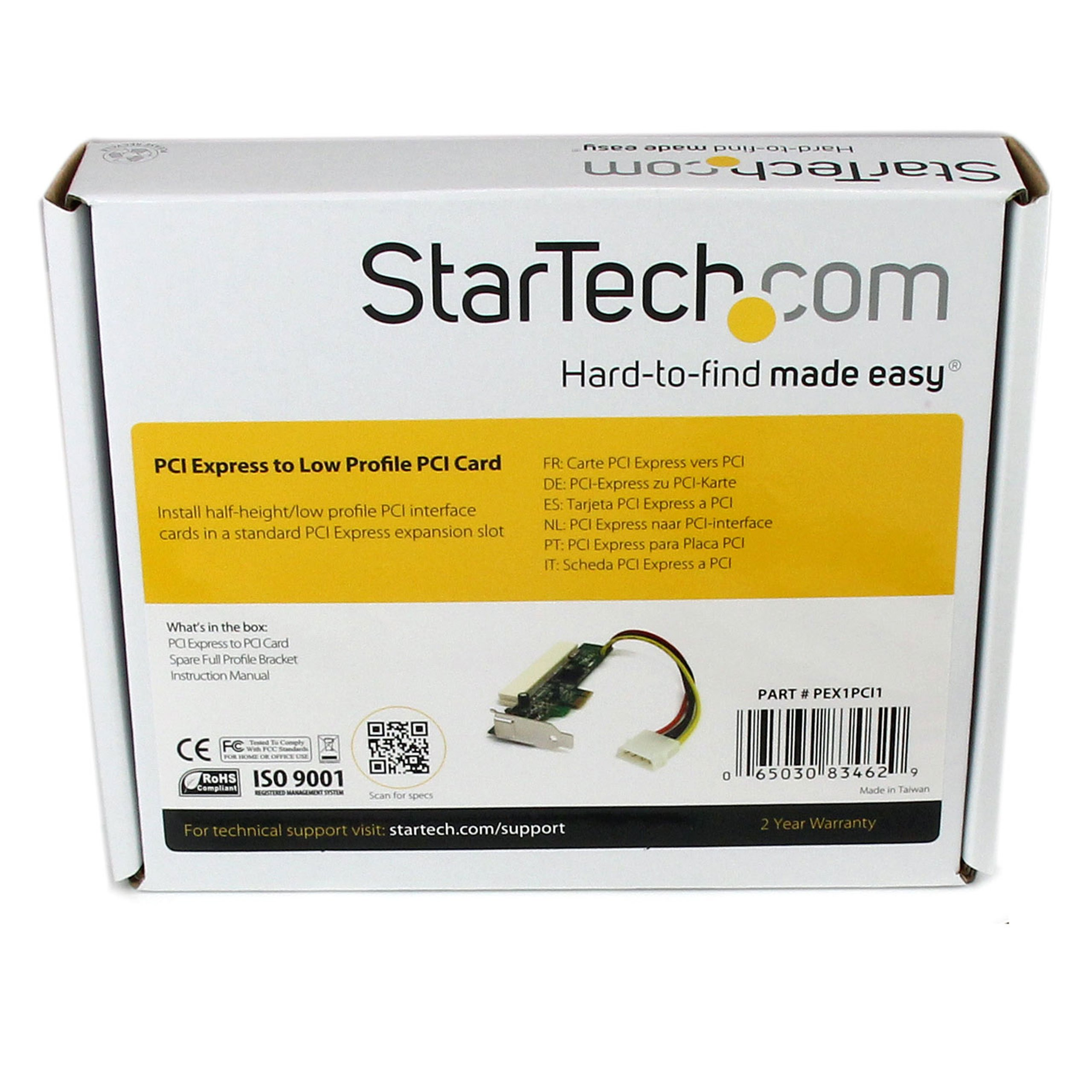 StarTech.com PCI Express to PCI Adapter Card (PEX1PCI1) by StarTech (Image #5)