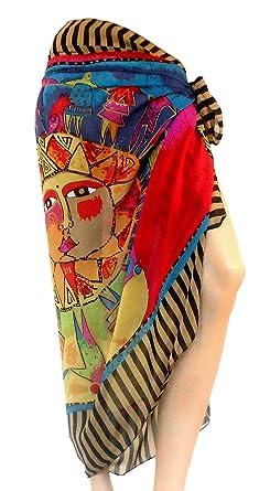 PRESKIN - verano pareo falda del abrigo del mantón pañuelo para el ...