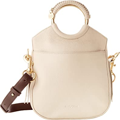 cc520dea56 Amazon.com  See by Chloe Women s Monroe Small Bracelet Tote Cement Beige  One Size  Shoes