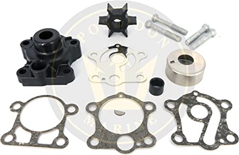 Outboard Impeller /& Gasket Replaces Yamaha 6H4-44352-02-00 /& 663-44315-A0-00