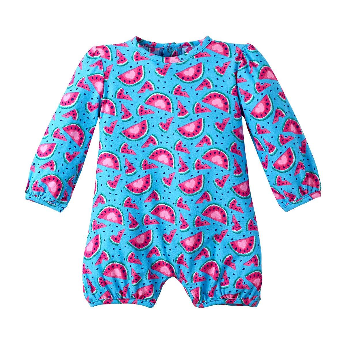 UV SKINZ UPF 50+ Baby Girls UV Sunzie Aqua Watermelon