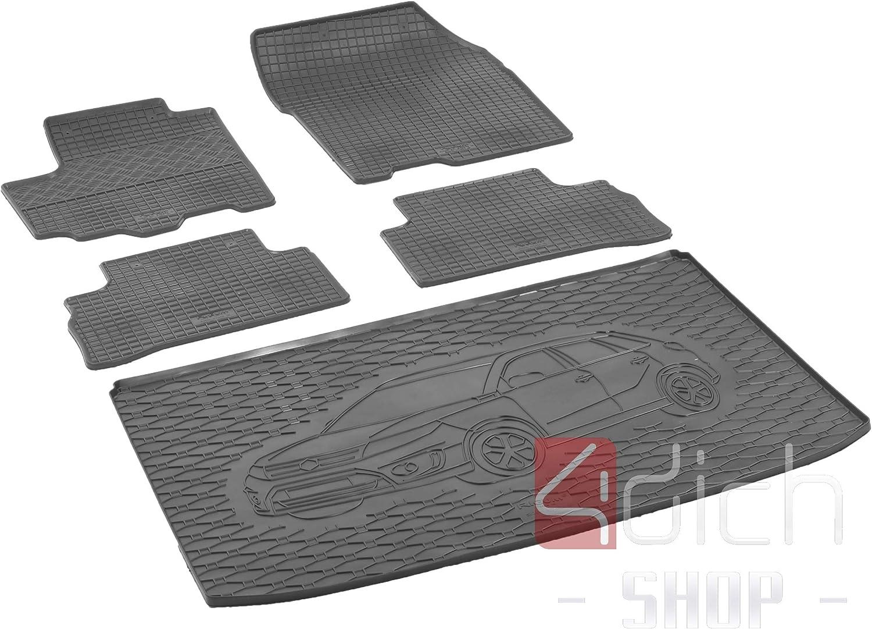 Passgenaue Kofferraumwanne Und Gummifußmatten Geeignet Für Suzuki Vitara Ab 2015 Autoschoner Monteur Auto