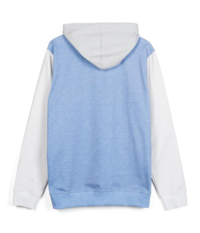 Sudadera unisex azul. Sudadera con capucha bicolor ICEBERG: Amazon.es: Ropa y accesorios