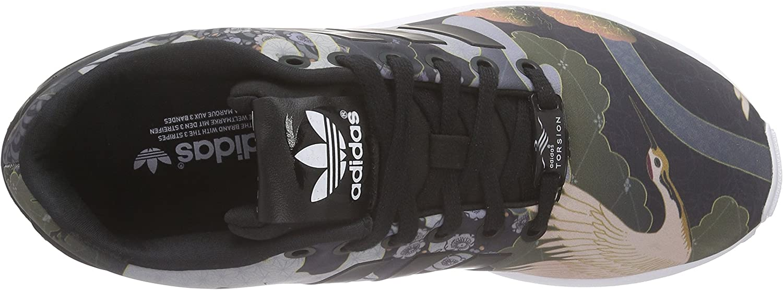 adidas Damen Zx Flux Sneaker, grau Schwarz Core Black Core Black Ftwr White