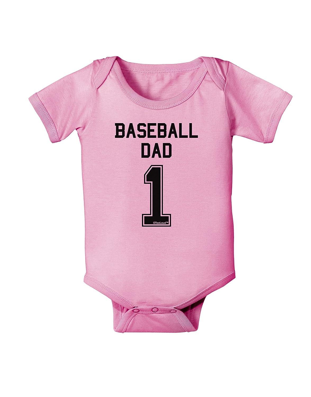 TooLoud Baseball Dad Jersey Baby Romper Bodysuit