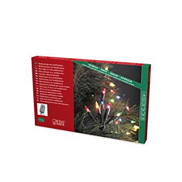 540a8c827 Konstsmide 1124-500 Traditional Fairy Light Set On Green Cable / Indoor Use  (IP20