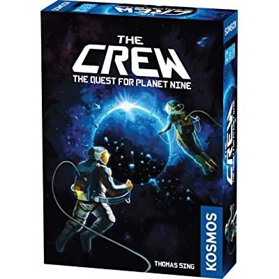The Crew | A Cooperative Space Adventure Card Game for 3 to 5 Players | A Kosmos Game | Embark on 50 Missions as a Team in Your Quest for Planet Nine | Ages 10 and up | Trick-Taking Game: Toys & Games [5Bkhe0306144]