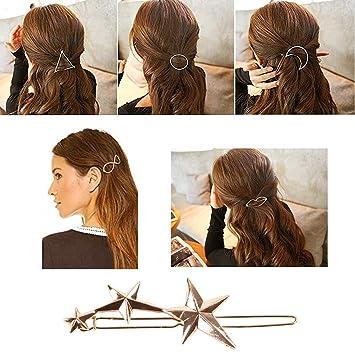 Amazon Com Lisli 6pcs Women Bobby Pins Hair Clips Vintage Triangle