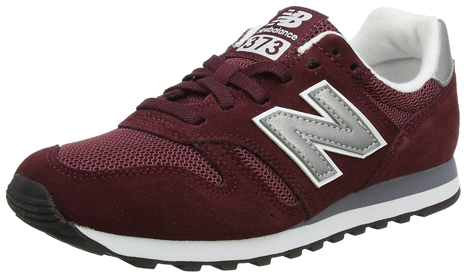 New Balance Men's 373V1 Sneaker B07D18WBBP 9.5 M US|Burgundy