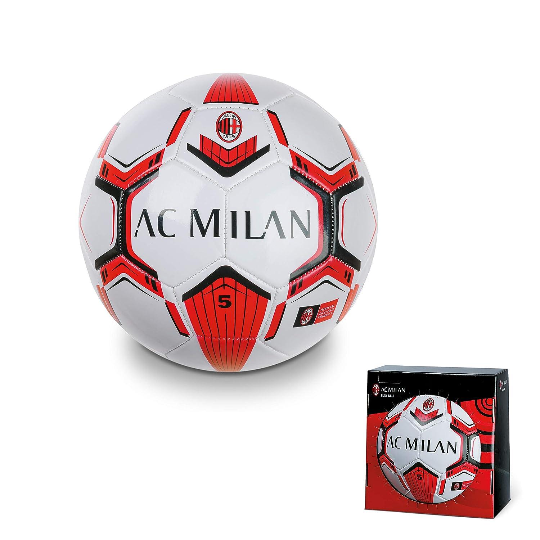A.C. Milan Pro - Balón de fútbol Cosido Talla 5 350 Gramos en Caja ...