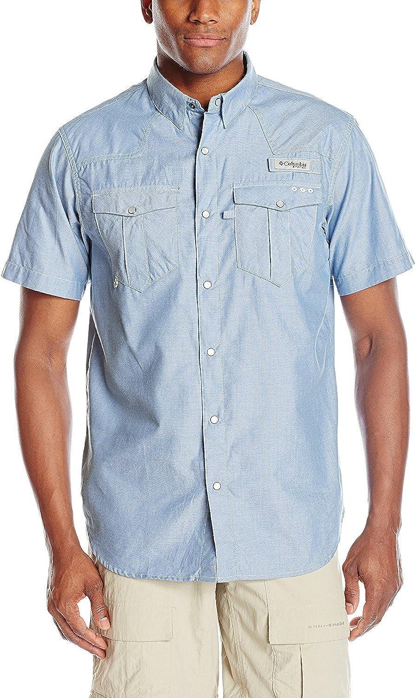 Columbia Sportswear Mens Beadhead Oxford Short Sleeve Shirt