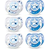 Philips AVENT BPA Free Night Time Pacifier,...
