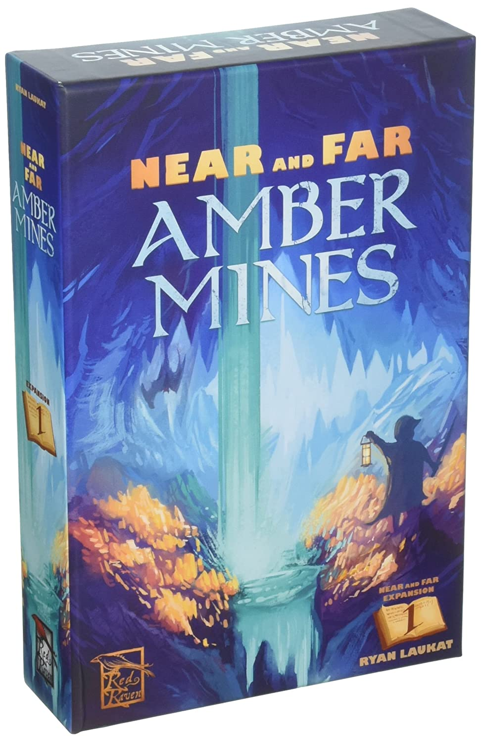 Red Raven Games RRG00018 Near and Far: Amber Mines, Mehrfarbig Pegasus Spiele