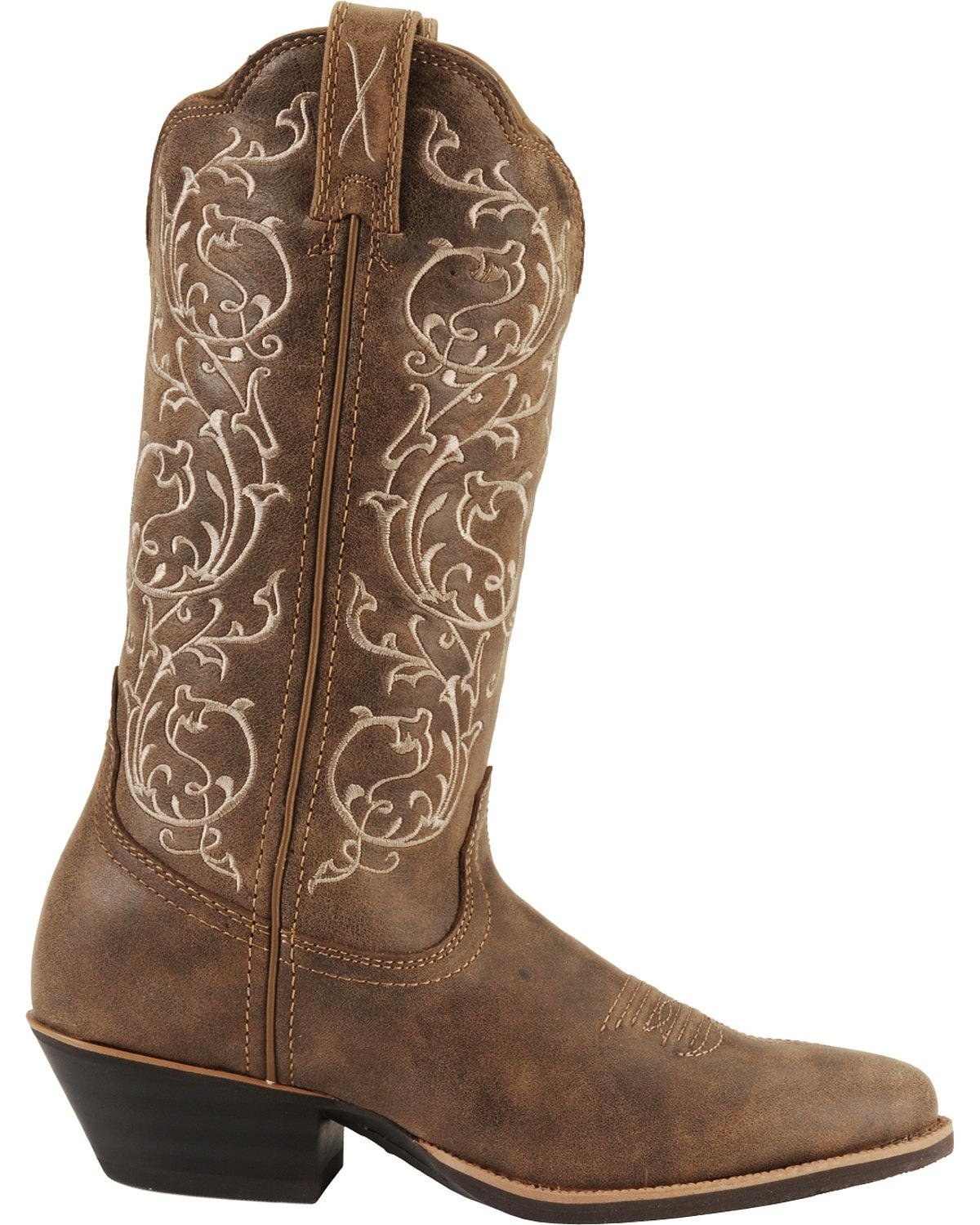 Twisted X Womens Western US|Brown Boot B00AS0BK4W 7.5 B(M) US|Brown Western 8ddbec