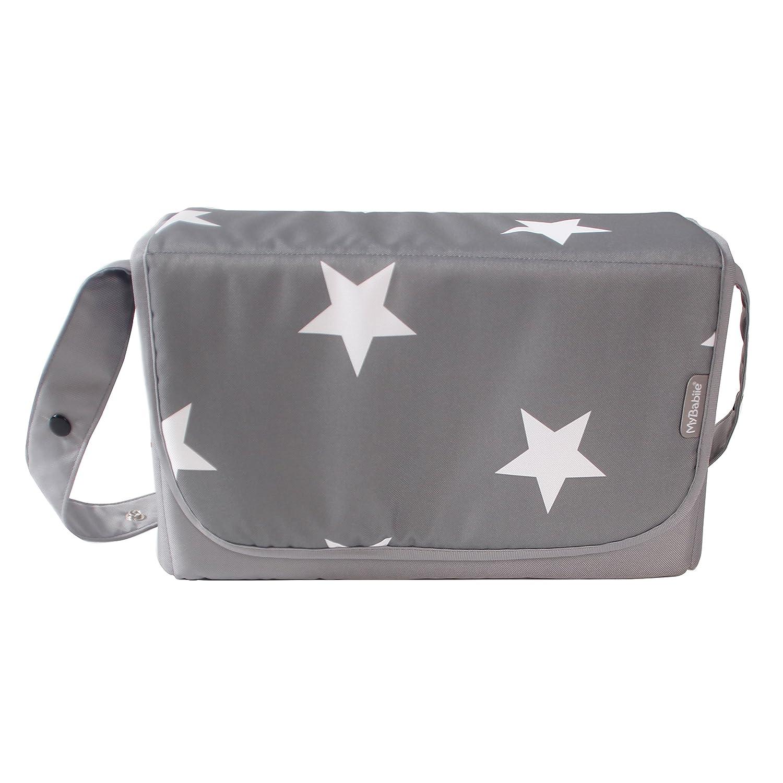 My Babiie Grey Stars Changing Bag