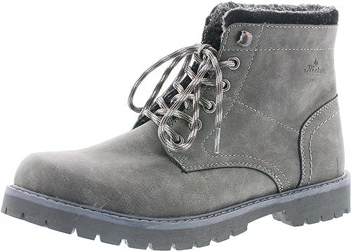Rieker Herren Klassische Stiefel F7911,Männer Boots,Lederstiefel,Schnürstiefel,