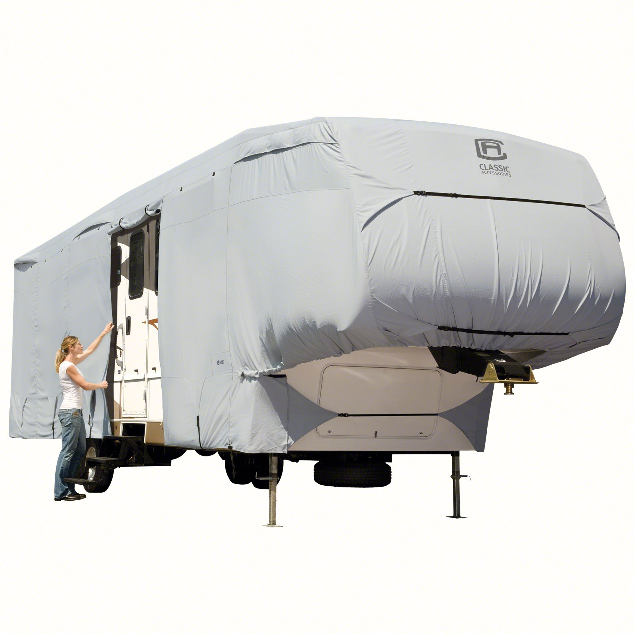 Classic Accessories OverDrive PermaPro Heavy Duty Cover for 20' to 23' 5th Wheel Trailers by Classic Accessories