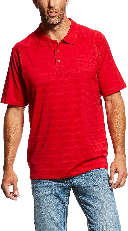 Ariat Mens AC Mesh VentTEK Polo Shirt