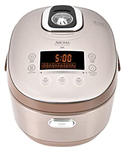 Aroma Housewares MTC-8010 Aroma Professional Rice Cooker/Multicooker Induction Heating 20 Cup Champagne