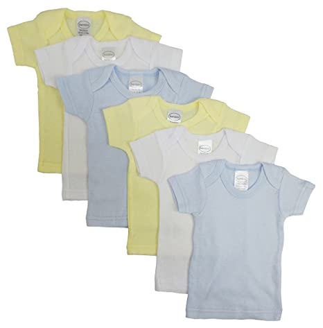 894bf2ae9ab2 Image Unavailable. Image not available for. Color: Bambini Boys Pastel  Variety Short Sleeve Lap T-shirts ...
