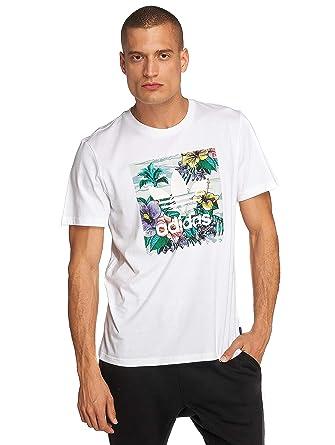 8cfffa3d72073 adidas Originals Hombres Ropa Superior Camiseta BB Floral  Amazon.es  Ropa  y accesorios