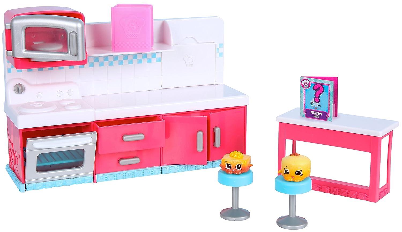 Kitchen Play Sets | Amazon Com Shopkins Chef Club Hot Spot Kitchen Playset Toys Games
