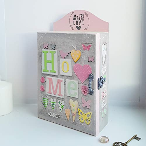 Amazon.com Home sweet home wooden key cabinet , decoupage