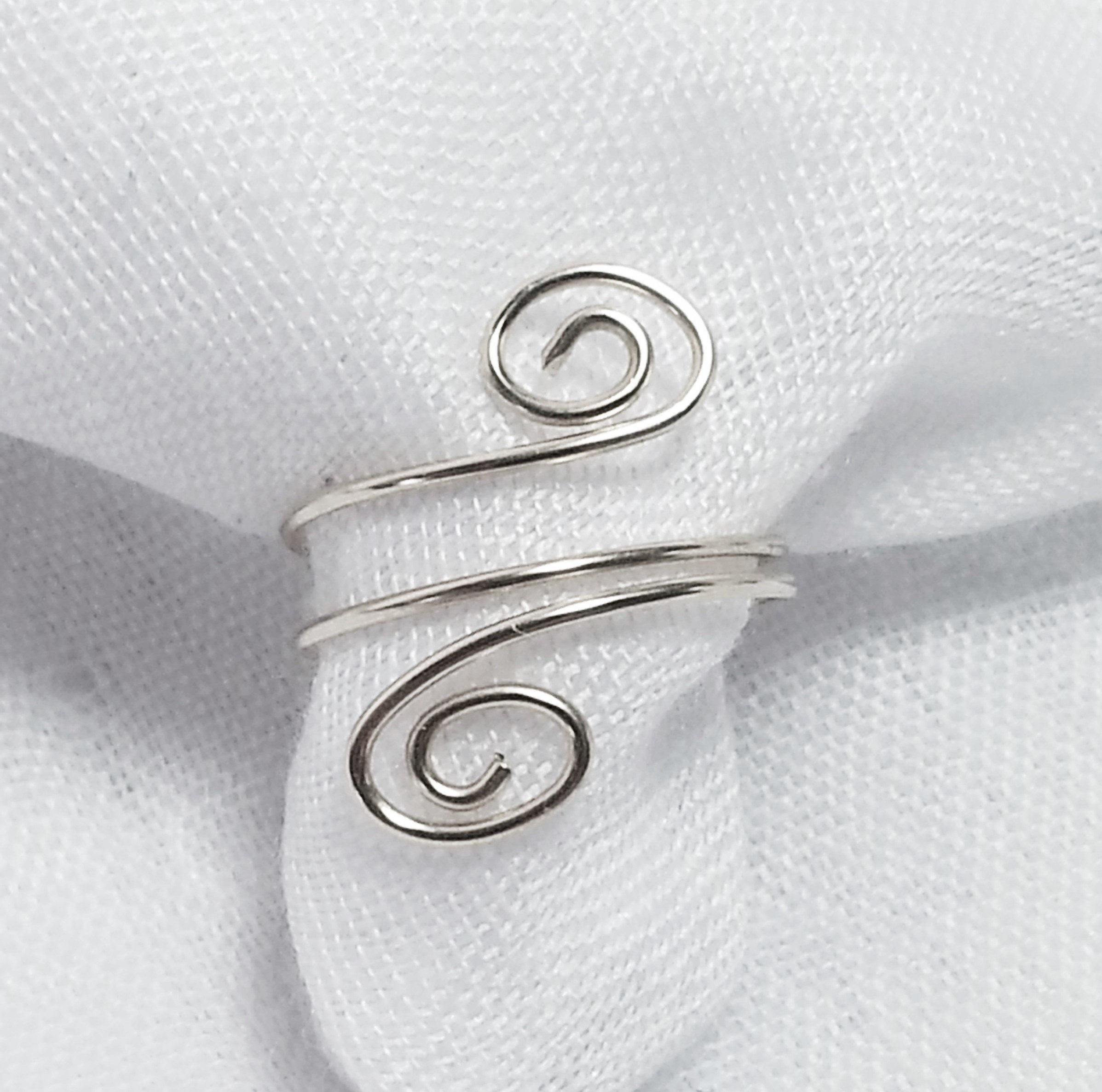Toe Ring - .925 Sterling Silver