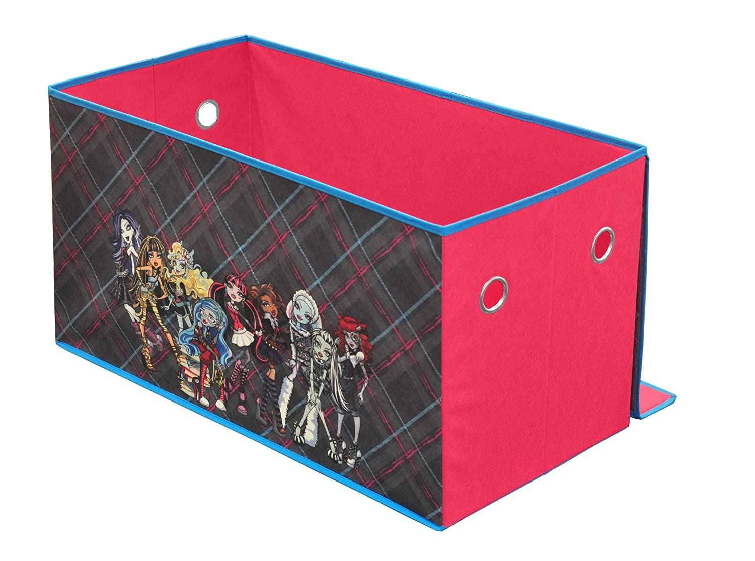 Amazon.com: Mattel Monster High Collapsable Storage Trunk: Toys U0026 Games