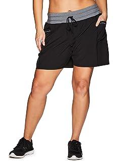 Amazon.com: E K Mujer Iyengar yoga pantalones cortos de ...