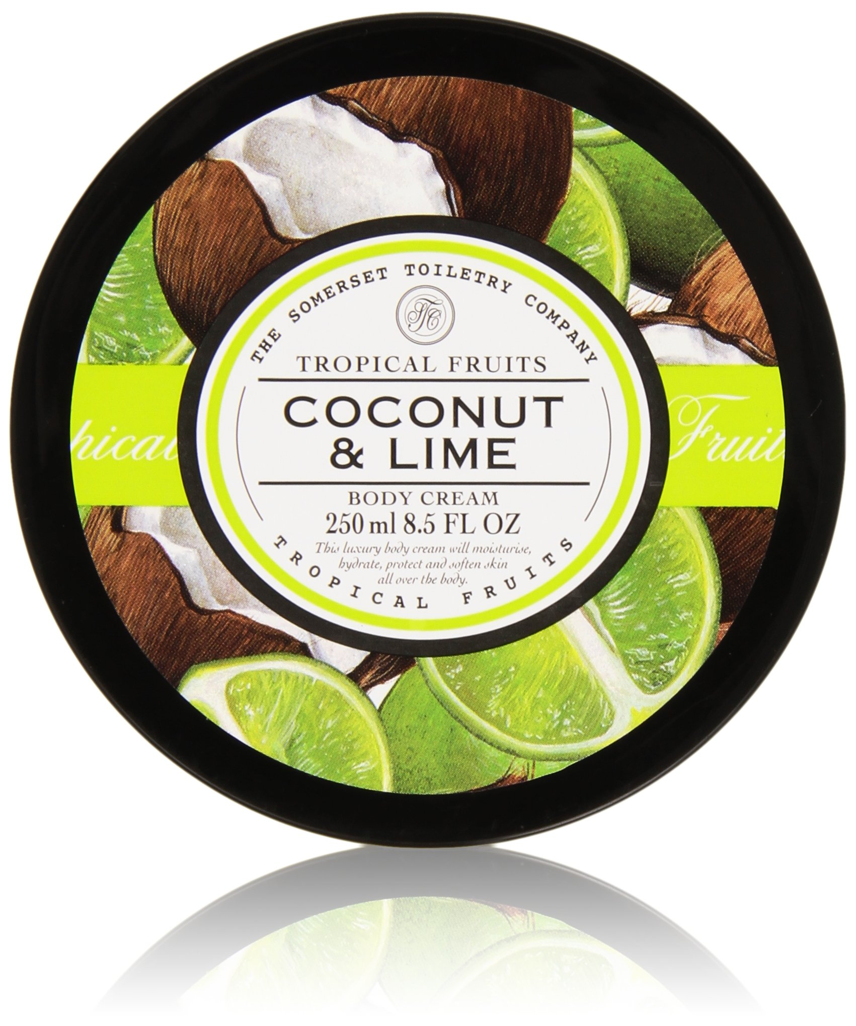 Tropical Fruits Coconut & Lime Body Cream by Asquith & Somerset