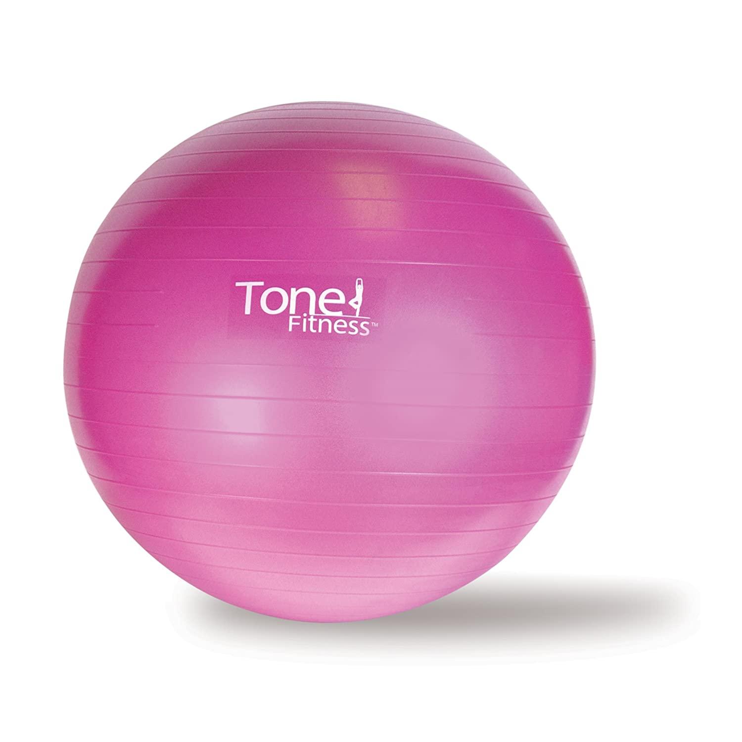 Tone Fitness AntiBurst Stability Ball Yoga Exercise Gym Home Workout 55 or 65cm | eBay