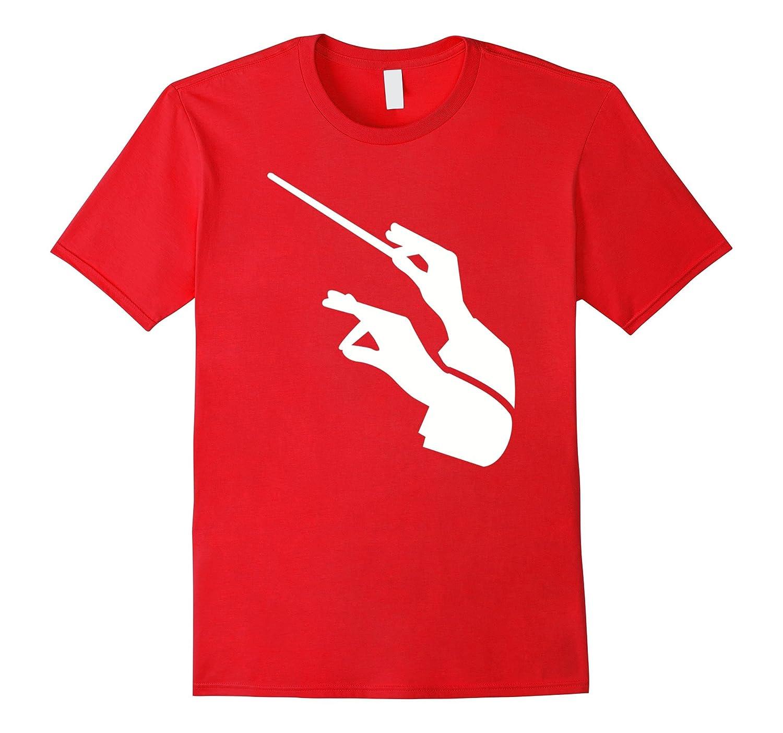 Conductor hands baton T-Shirt-Art