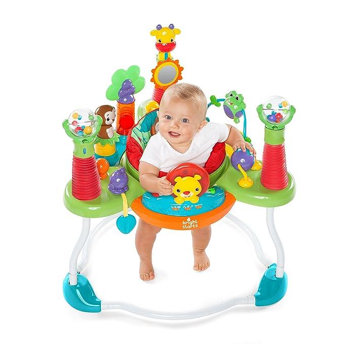 Amazon.com: Bright Starts explorar y Roar Actividad Jumper: Baby