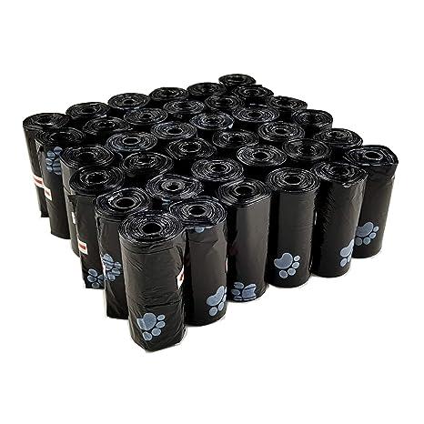 Nobal-Dog 540 Bolsas para excrementos Caca de Perro Gato Animales Mascotas 36 Rollos -19,5x30CM biodegradables perfumadas y Estampadas [Fabricado en ...