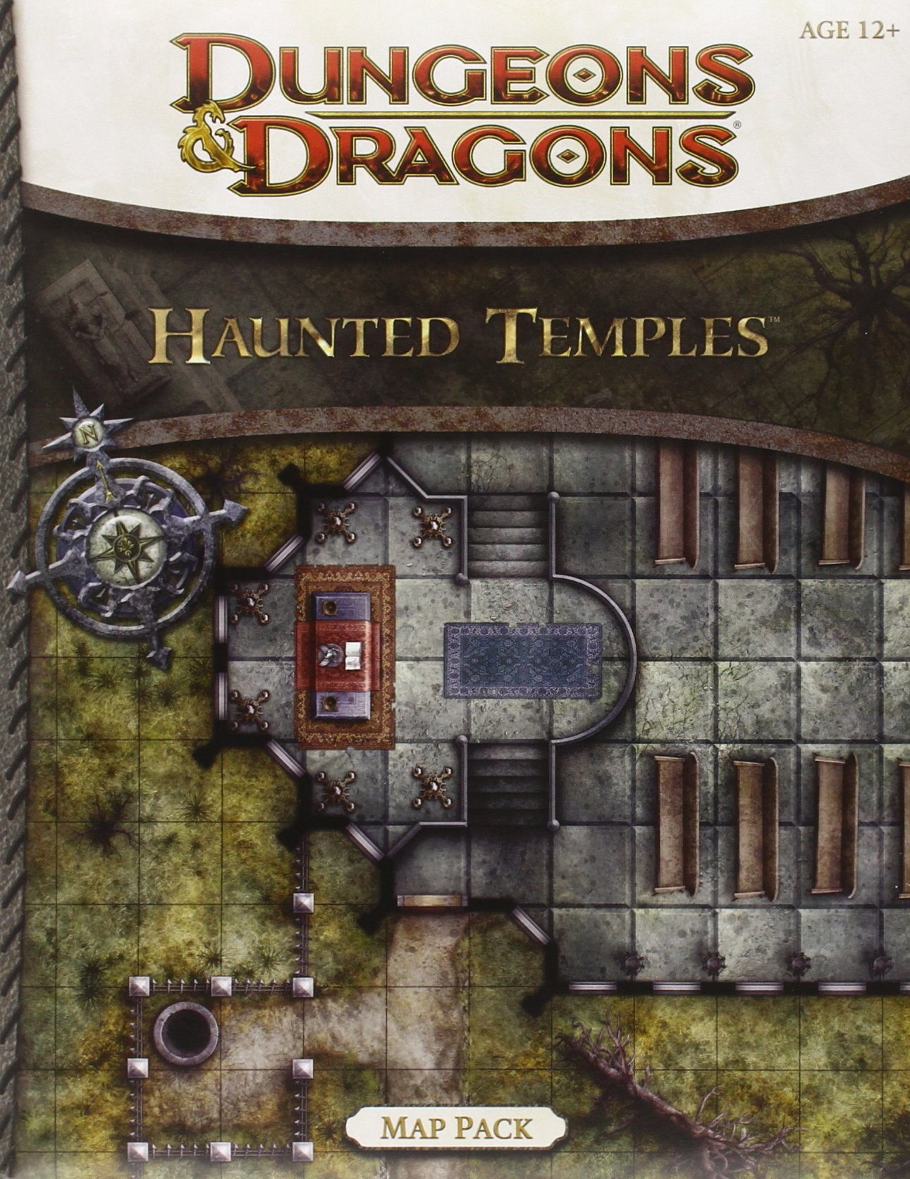 Dungeons Dragons Haunted Temples Map Pack Wizards Rpg Team