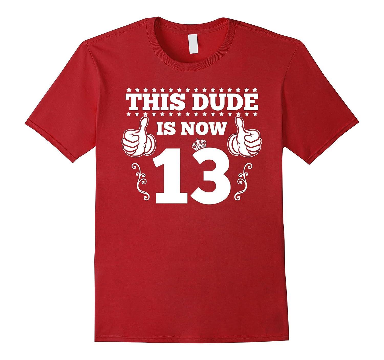 13 Year Old Boy Shirt, 13th Birthday Kids T Shirt