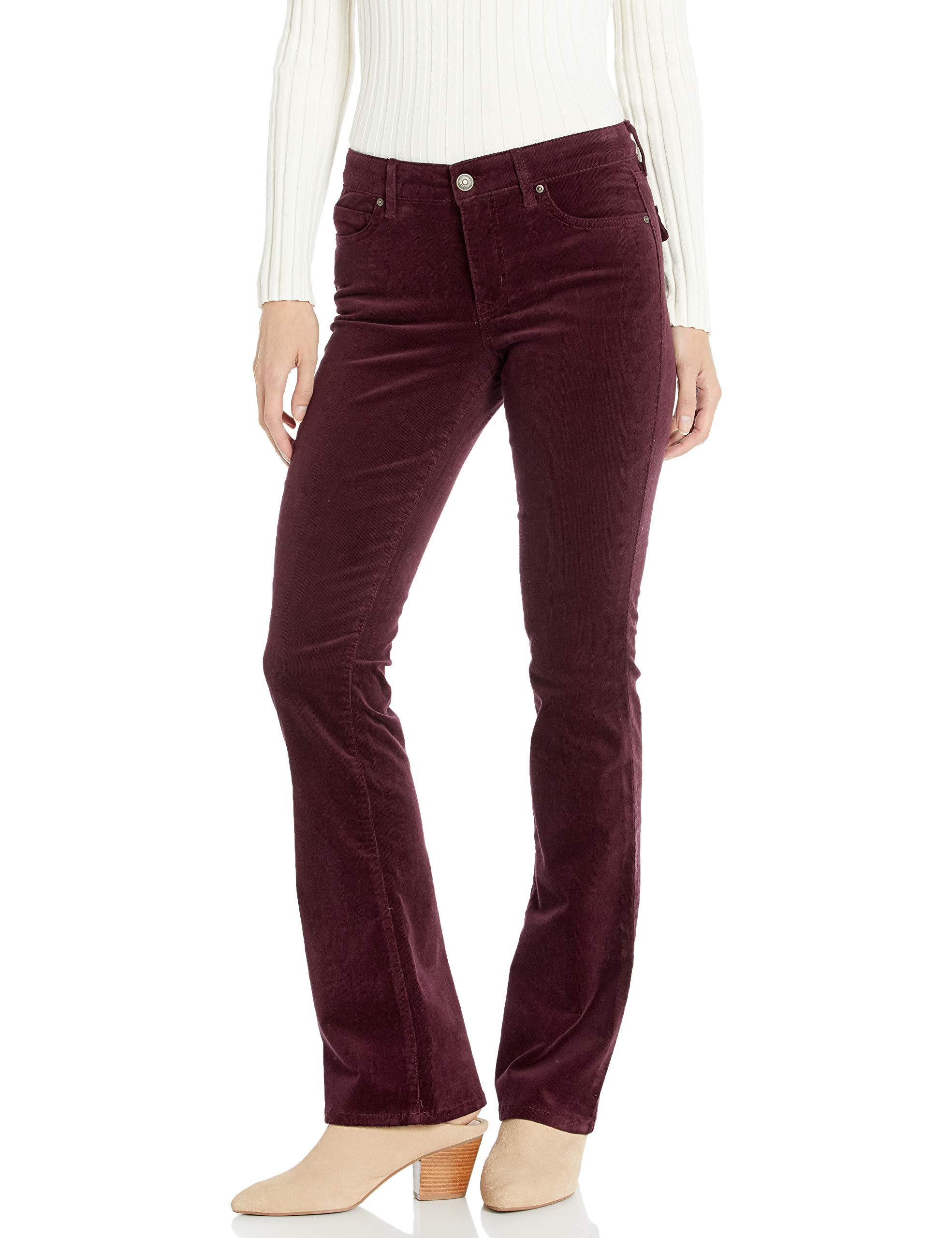 Vintage America Blues Women's Plus Size Vintage Boot Cut Jean, Wine Tasting - Corduroy, 22W by Vintage America Blues