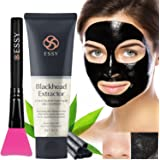 Black Mask Charcoal peel off mask With Brush- Blackhead Remover Purifying Deep Cleansing Facial Black Mask, Deep Pore Cleanse for Acne, Oil Control 80g