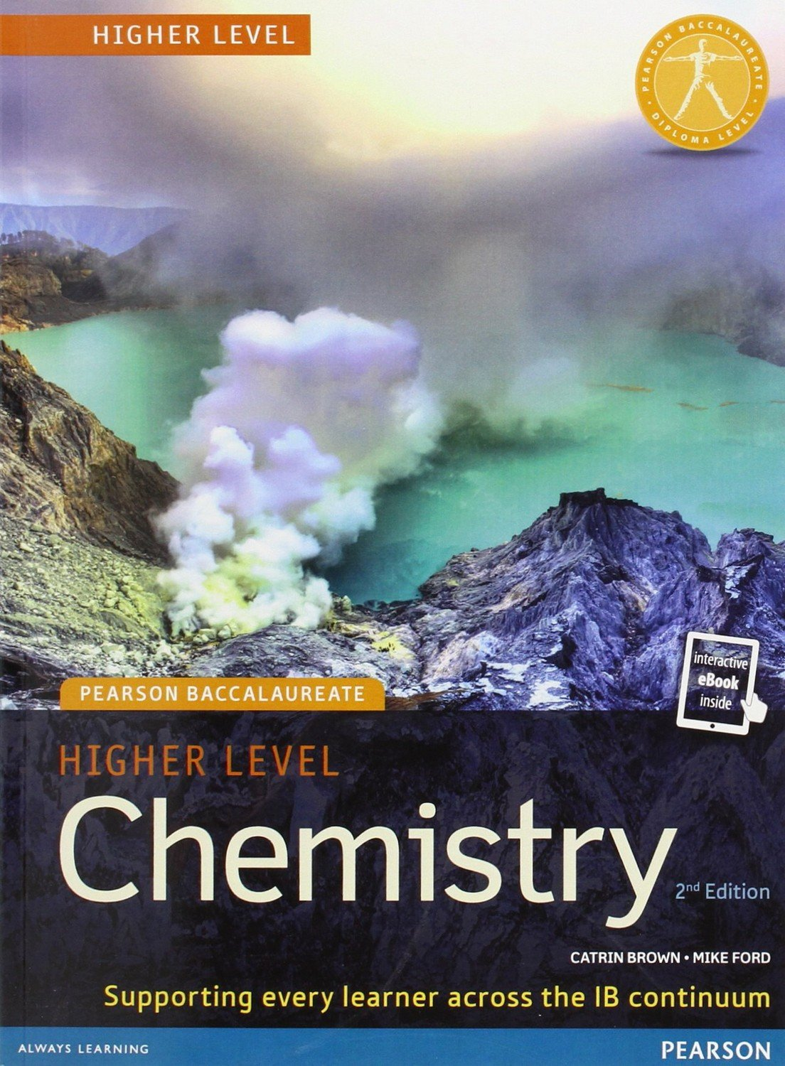 Captivating Pearson Baccalaureate Chemistry Higher Level 2nd Edition Print And Online  Edition For The IB Diploma (Pearson International Baccalaureate Diploma: ...