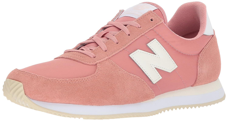 New Balance Women's 220v1 Sneaker B071P9B7S7 6 D US|Dusted Peach/White